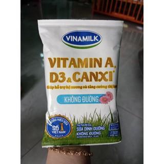 10bịch sữa bịch không đường vinamilk