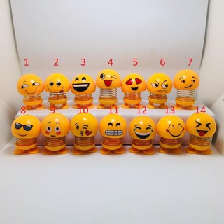 Bộ 6 Emoji lò xo thú nhún biểu tượng cảm xúc_ngocmay