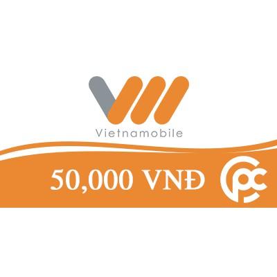 Thẻ nạp 50K Vietnam - Vietnamobile