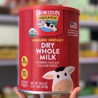 Sữa tươi nguyên kem dạng bột Horizon Organic Dry Whole Milk 870g