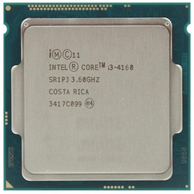 Cpu core i3 4160 3.6ghz
