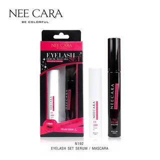 [Auth Thái] Serum Dưỡng Mi và Mascara Nee Cara - Eyelash Set Serum Mascara Fuller & Longer Neecara N192 thumbnail