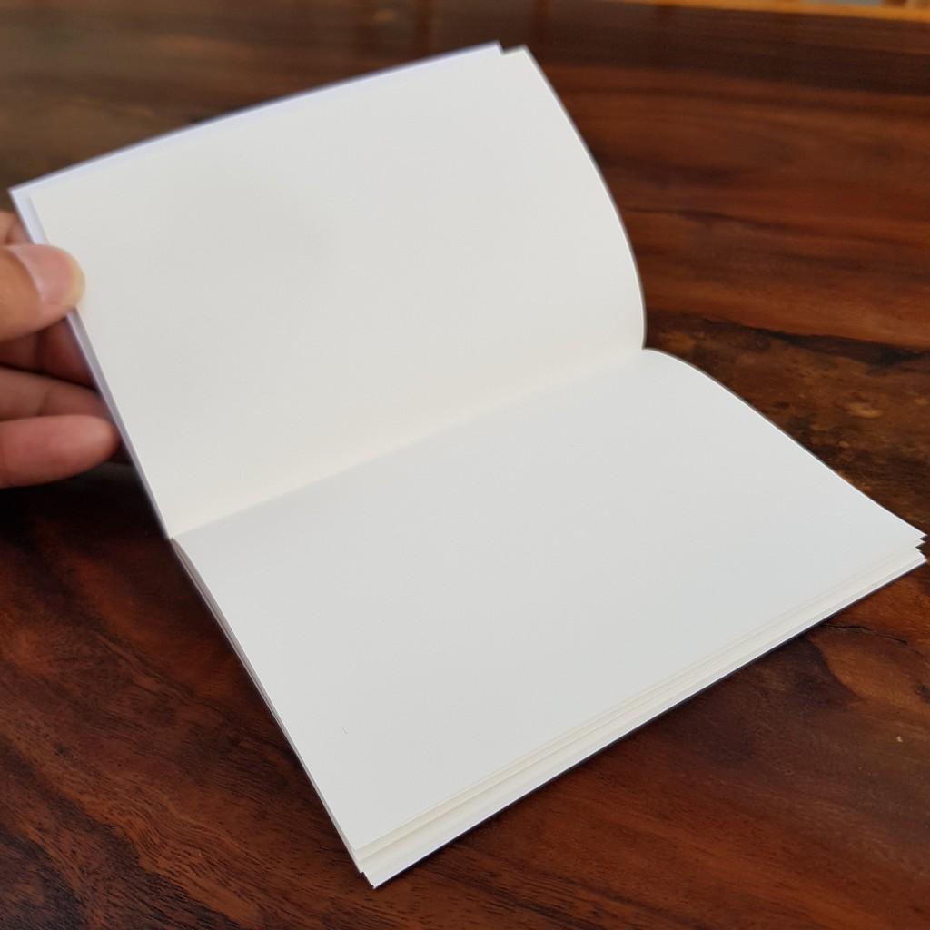 Sổ tay mini sketchnote G Station bìa bo góc tròn - GS10 - 9x14cm