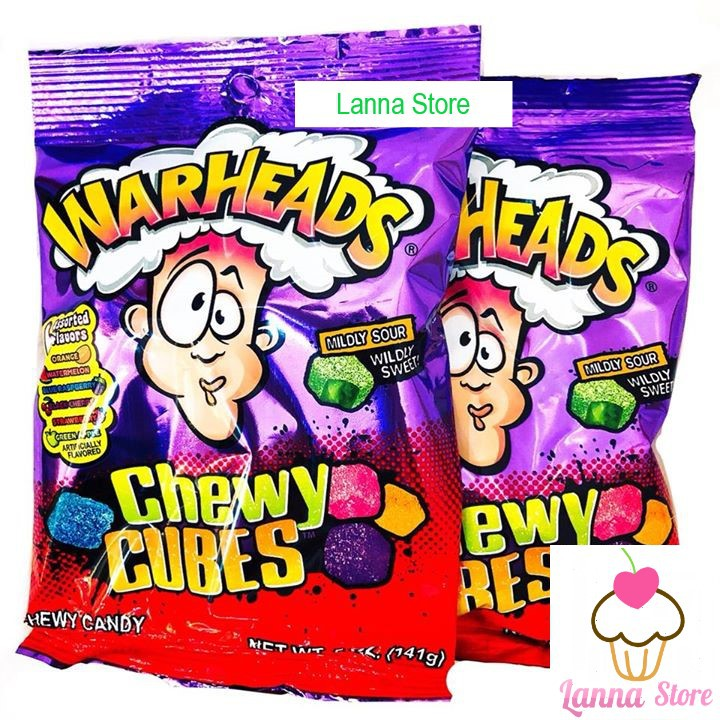 Kẹo dẻo nhân chua WARHEADS - Mỹ