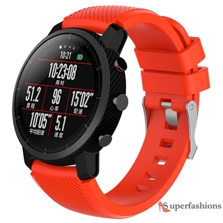 Dây Đeo Silicon 22mm Cho Huami Amazfit 1 / 2