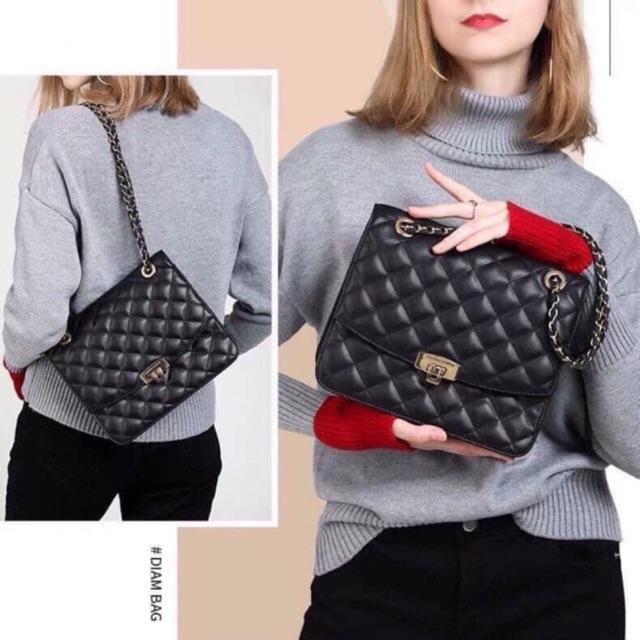 Túi đeo chéo túi đeo vai nữ trần trám mẫu HOT HIT 2020