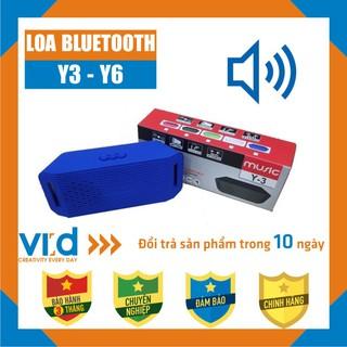 [Mã ELFLASH5 giảm 20K đơn 50K] Loa Mini Bluetooth Y3-Y6 - Bảo hành 3 tháng