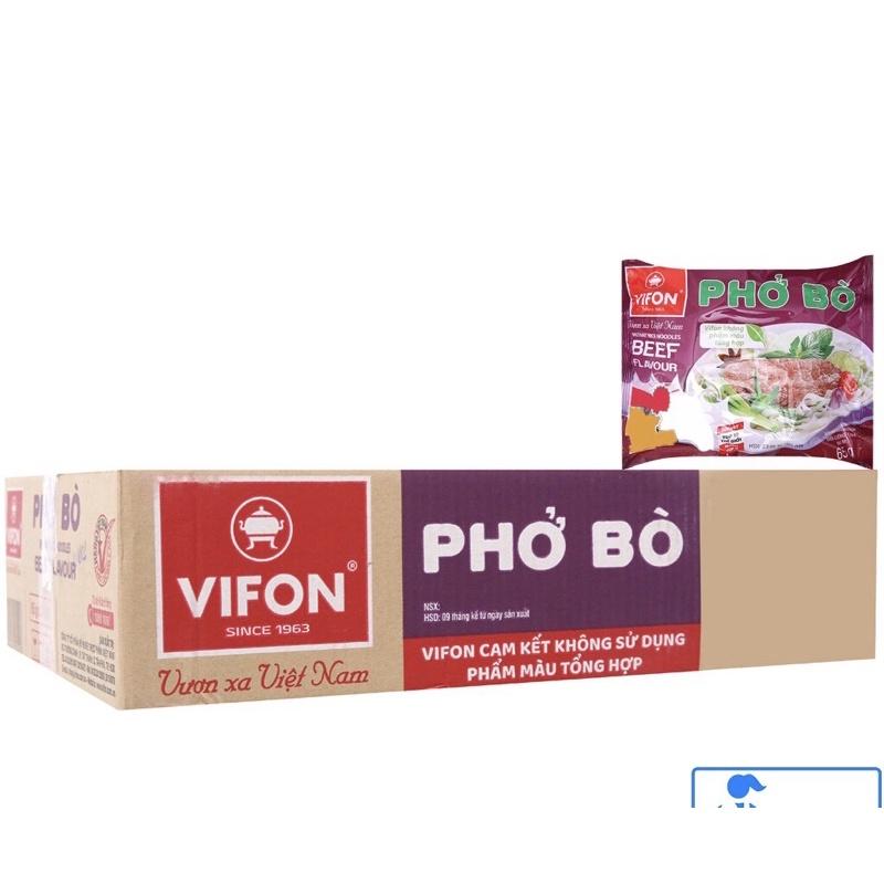 PHỞ BÒ VIFON- thùng 30 gói