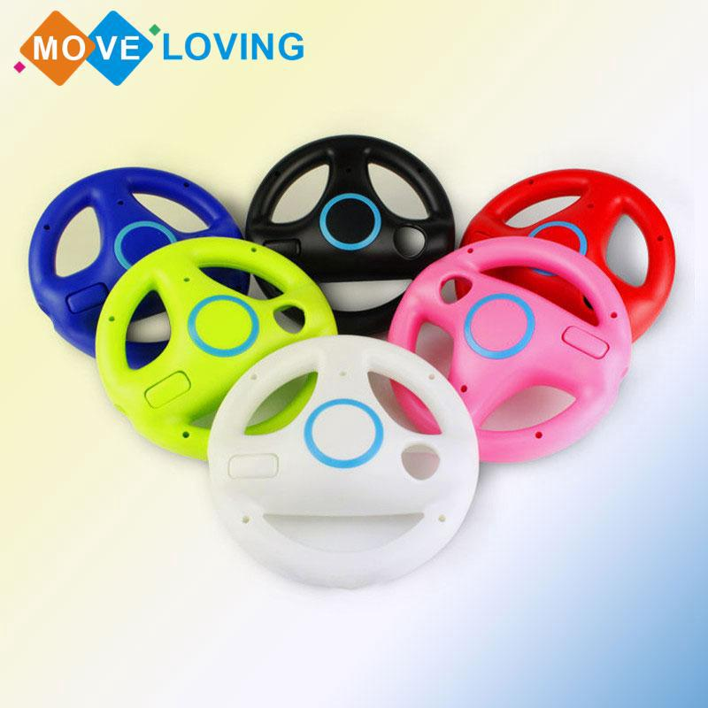 Round Steering Wheel Holder For Racing Game Remote Controller Console Plastic