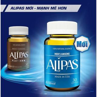 (Chính hãng có tem tích điểm) Sâm Alipas Platinum – tăng cường sinh lý nam