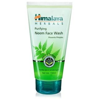 [FMCG20 -20K ĐH179K]Sữa rửa mặt trị mụn sạch da Himalaya Purifying Neem Face Wash 150ml