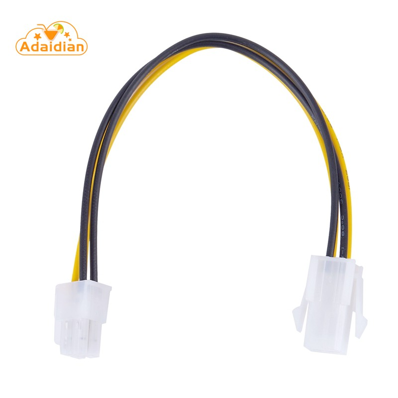 ◊◙20CM 12V 4 Pin Male to 4 Pin P4 Female Power Supply Extension Cable