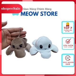 [ Hàng Hot ] Móc khoá bạch tuột cảm xúc.Móc Khóa Dễ Thương MeowStore(Màu Ngẫu Nhiên ) thumbnail