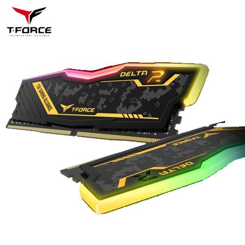 [Mã ELMALLAPR1 giảm 7% đơn 499K] Ram kit T-Force Delta TUF RGB D4-3200 2x8Gb