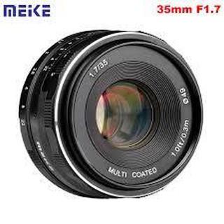 (CÓ SẴN) Ống Kính Meike 35mm F1.7 – Dùng Sony E, Fujifilm, Canon EOS-M và Panasonic Olympus M43