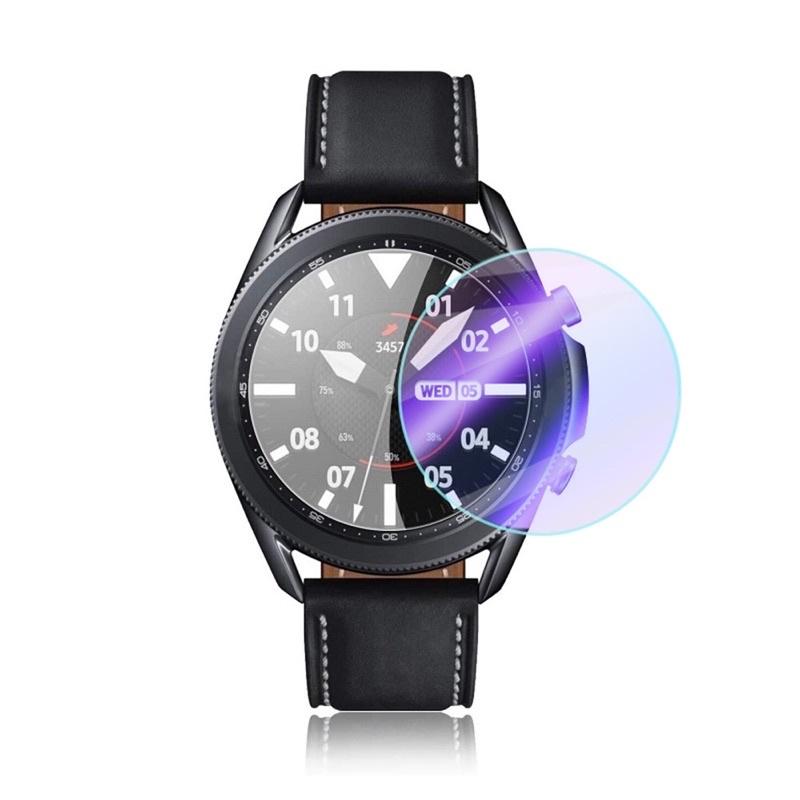 Kính Cường Lực 9h Miếng Dán Bảo Vệ Màn Hình Đồng Hồ Samsung Galaxy Watch 3 & Watch 4 Classic...
