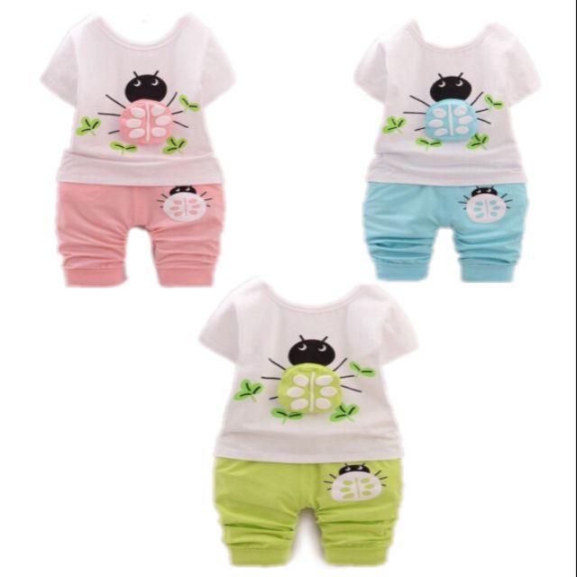 Combo 3 bộ quần áo ngắn tay hình bọ cho bé trai và bé gái 7-17kg AK14 - 2644675 , 959373553 , 322_959373553 , 150000 , Combo-3-bo-quan-ao-ngan-tay-hinh-bo-cho-be-trai-va-be-gai-7-17kg-AK14-322_959373553 , shopee.vn , Combo 3 bộ quần áo ngắn tay hình bọ cho bé trai và bé gái 7-17kg AK14