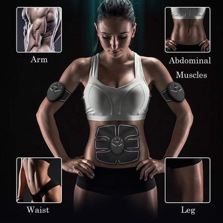 Máy tập cơ bụng,cơ bắp nam nữ EMS Smart Fitness ST2S517