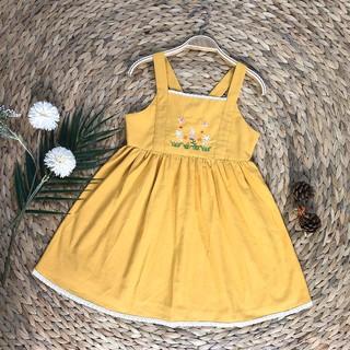 Váy 2 dây mùa hè cho bé gái (Form to)