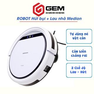 Robot hút bụi lau nhà MEDION MD19510 - Robot dọn nhà thông minh -  MD 18501 cải tiến