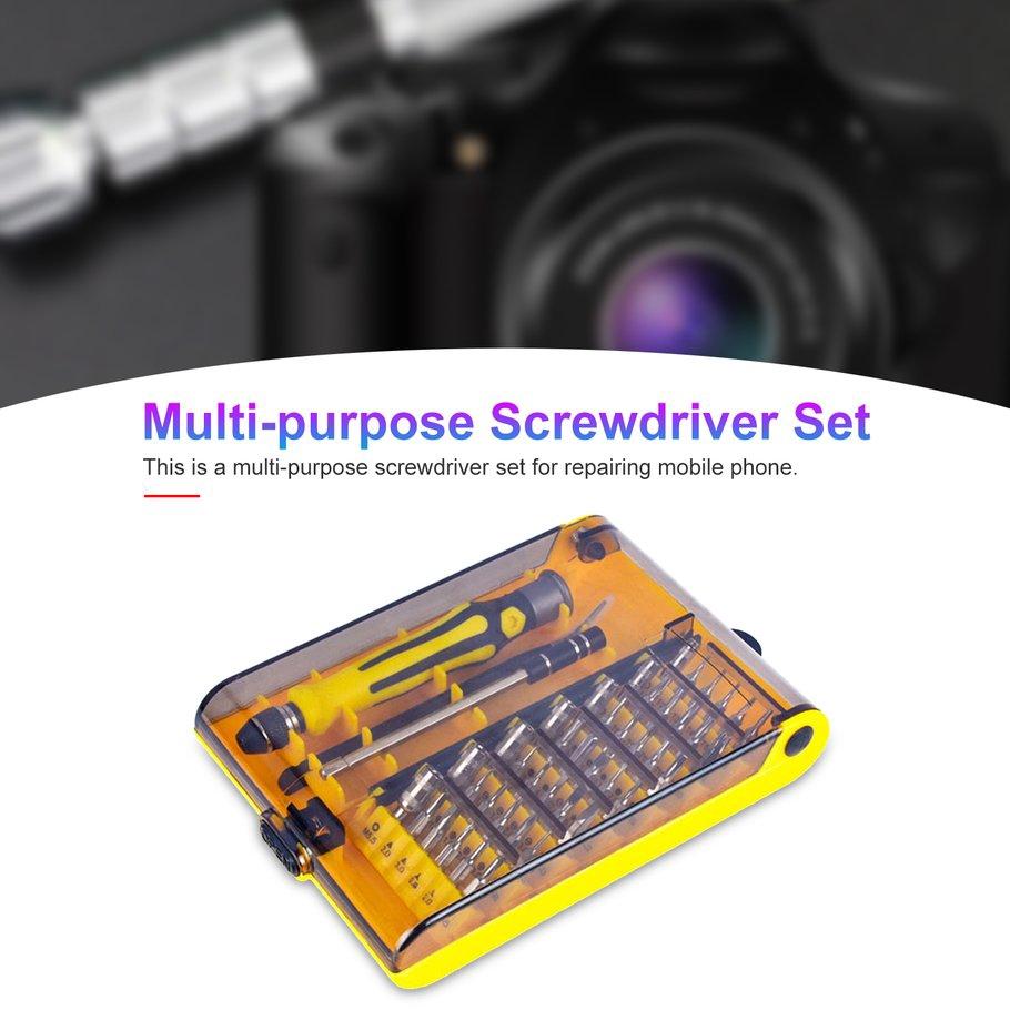 【SYH】45Pcs Multi-purpose Screwdriver Set for Phone Computer PC Repair Tools Bit
