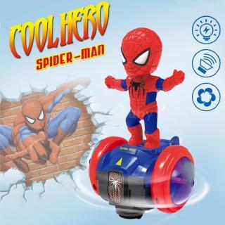 Robot siêu nhân Người máy cân bằng âm nhạc Xe hơi với Flash Light Electric 360 độ Xoay Đồ chơi quà tặng cho trẻ em
