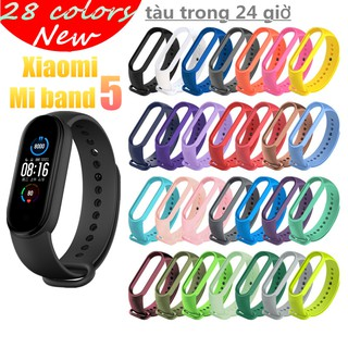 Yêu ThíchReplacement Silicone TPU Wristband for Xiaomi Mi Band 5