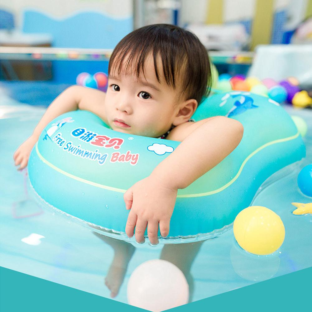 Children Kid Blow Up Waist Swim Ring Trainer Bath Water Toy