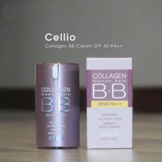 Kem nền Cellio Collagen Blemish Balm B.B SPF 40 PA+++ thumbnail