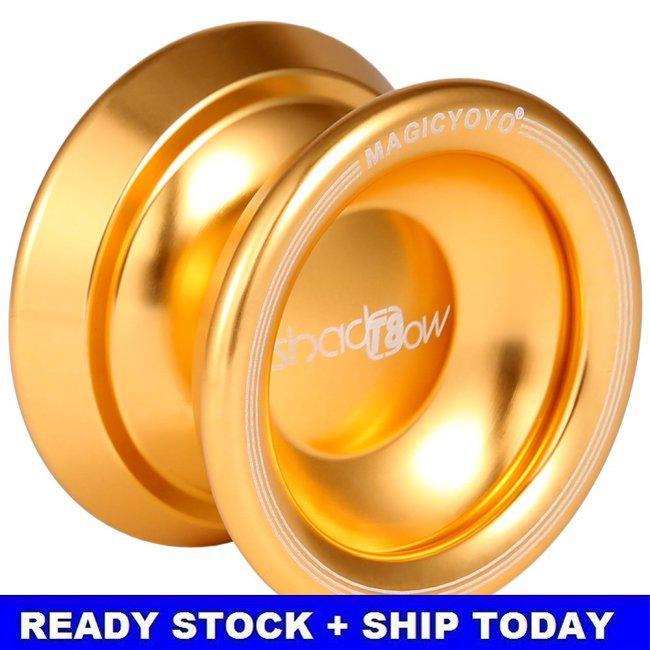 Magic YoYo T8 Magic Shadow Golden Aluminum Professional Yo-Yo T8