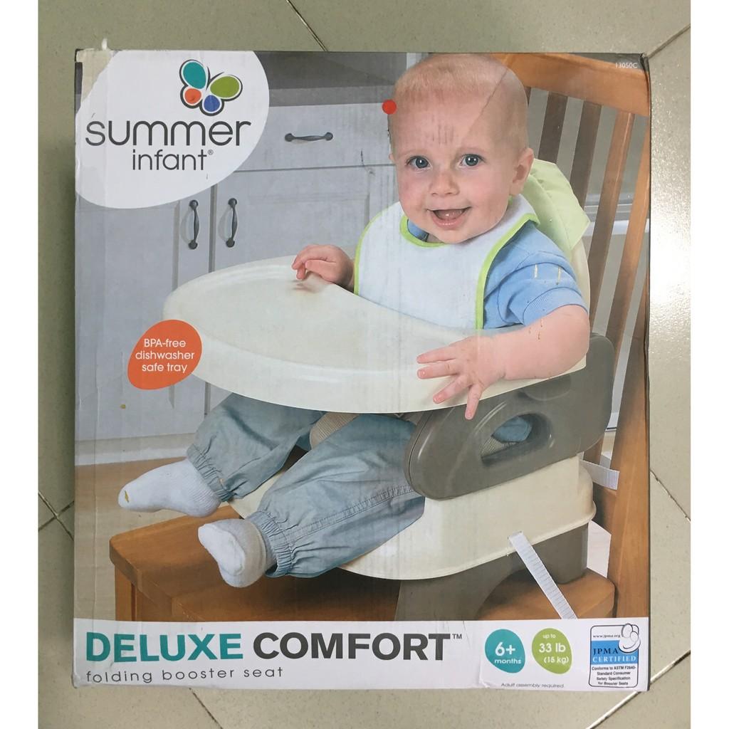GHẾ ĂN DẶM SUMMER INFANT DELUXE COMFORT - 2496004 , 251078656 , 322_251078656 , 750000 , GHE-AN-DAM-SUMMER-INFANT-DELUXE-COMFORT-322_251078656 , shopee.vn , GHẾ ĂN DẶM SUMMER INFANT DELUXE COMFORT
