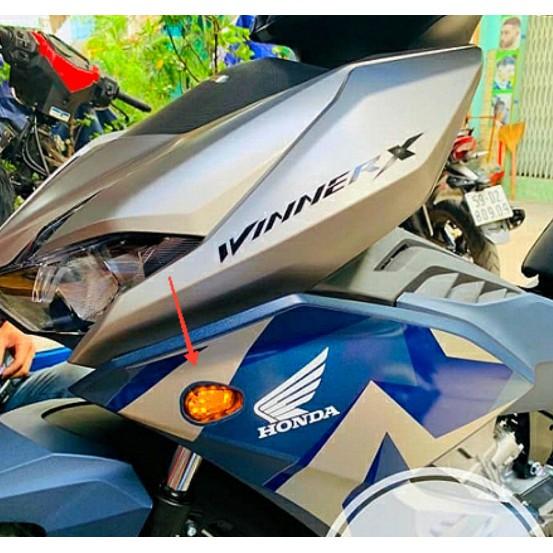 ( 1 đôi ) Đèn led xi nhan Winner X - Xi nhan mai rùa mini lắp nhiều loại xe