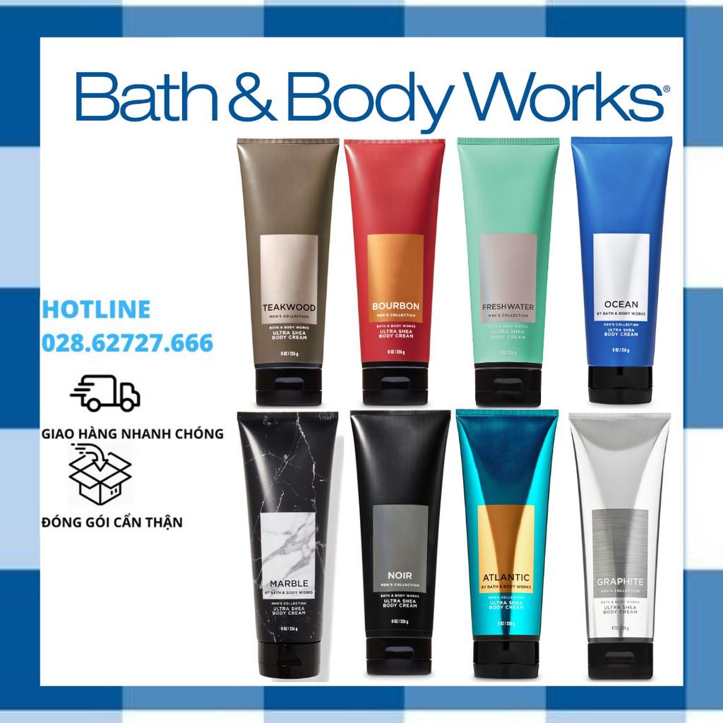 [Đủ Mùi] Kem Dưỡng Thể Cho Nam Bath And Body Works For Men (226g)