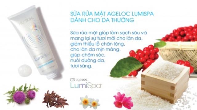 Sữa rửa mặt Lumispa