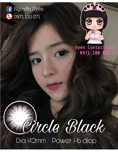 🔥[ Ảnh Thật ] Lens Vassen Circle Choco 14.2mm 0-6 độ Hàn Quốc - DUONGUYENLENS - Chất Lượng Hàng Đầu...