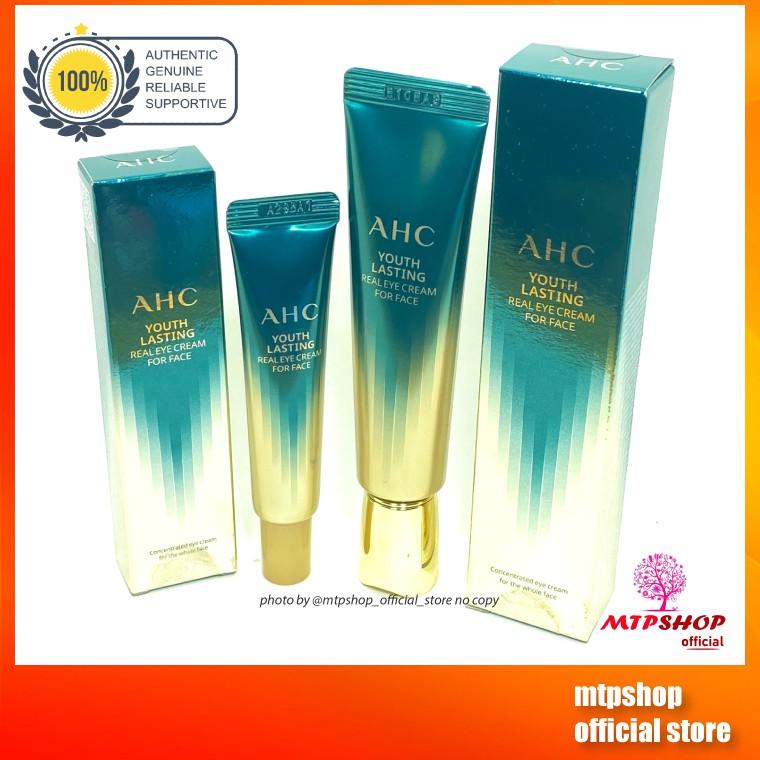 Kem Dưỡng Da Vùng Mắt Và Mặt AHC Ageless Real Eye Cream For Face
