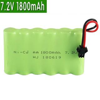 Pin 7.2V-1800mAh-Ni-Cd