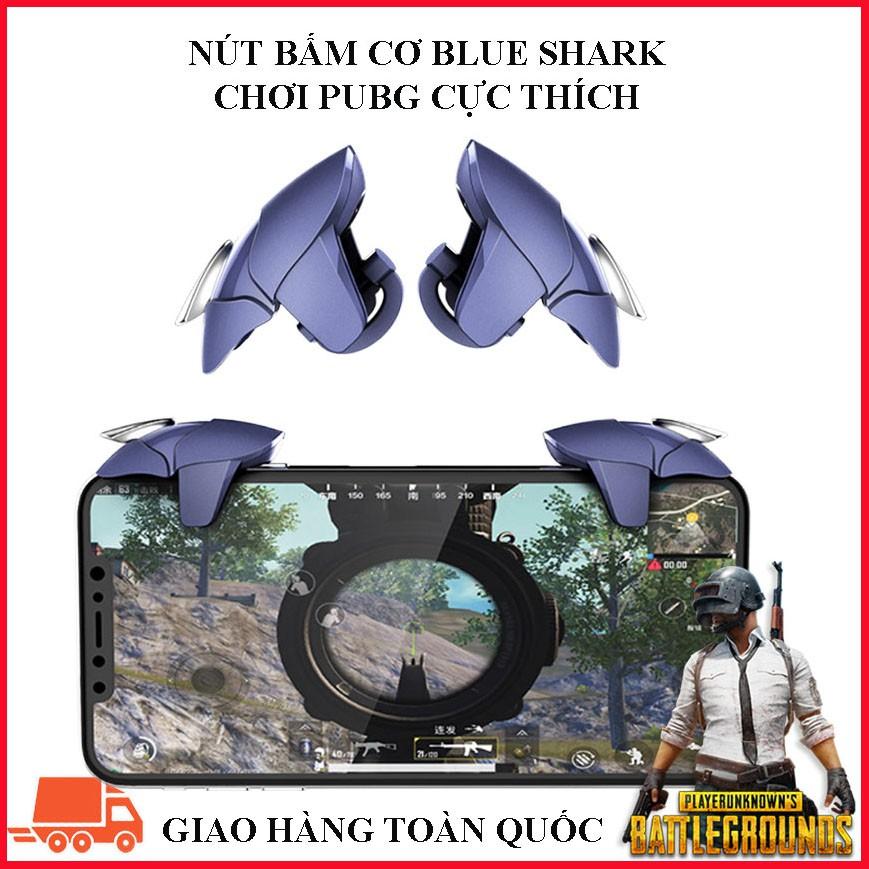 (Có Hộp Đựng) NÚT CHƠI GAME BẮN PUBG BLUE SHARK CAO CẤP KIM LOẠI Liên Vũ Store