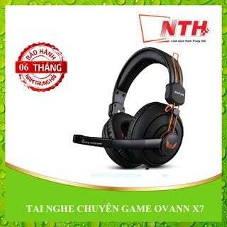 [Mã ELFLASH5 giảm 20K đơn 50K] [NTH] Tai nghe chụp tai chuyên game Ovann X7