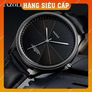 [CAO CẤP] Đồng hồ nam Yazole 503 dây da thời trang sang trọng lịch lãm
