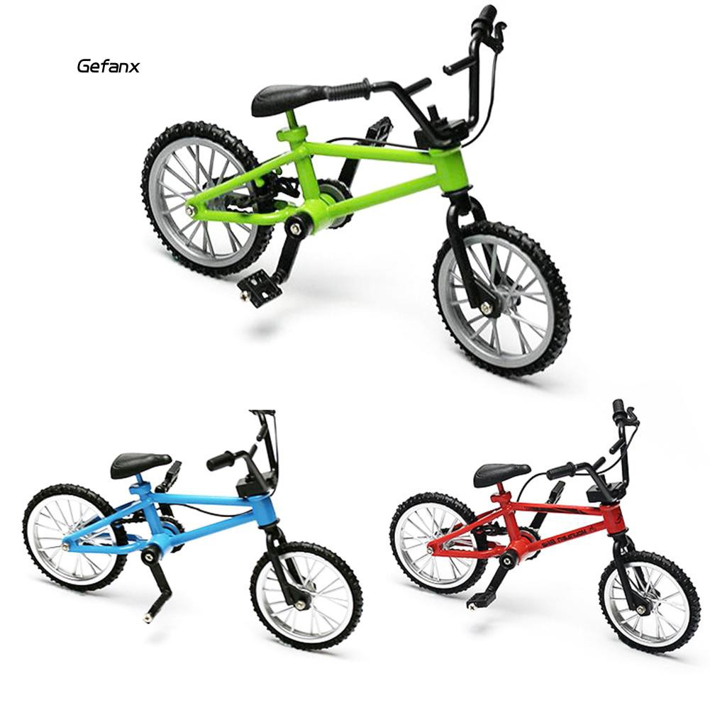 GEFX_Mini Alloy Simulation Bike Finger Bicycle Kids Children Toy Collection Gift