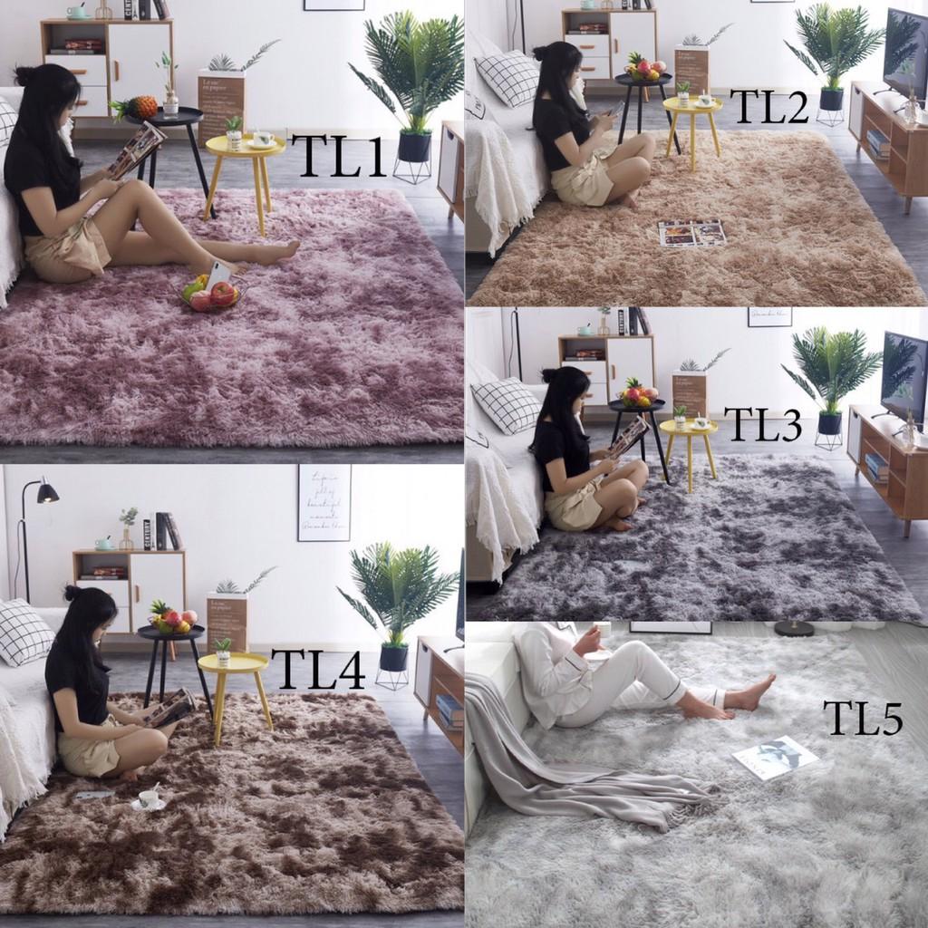 [ Gía Rẻ Vô Địch ] Thảm Lông Loang Trải Sàn-Thảm Lì Bali  Cao Cấp Trang Trí Phòng Khách-Phòng Ngủ  ( Có Video Minh Họa )