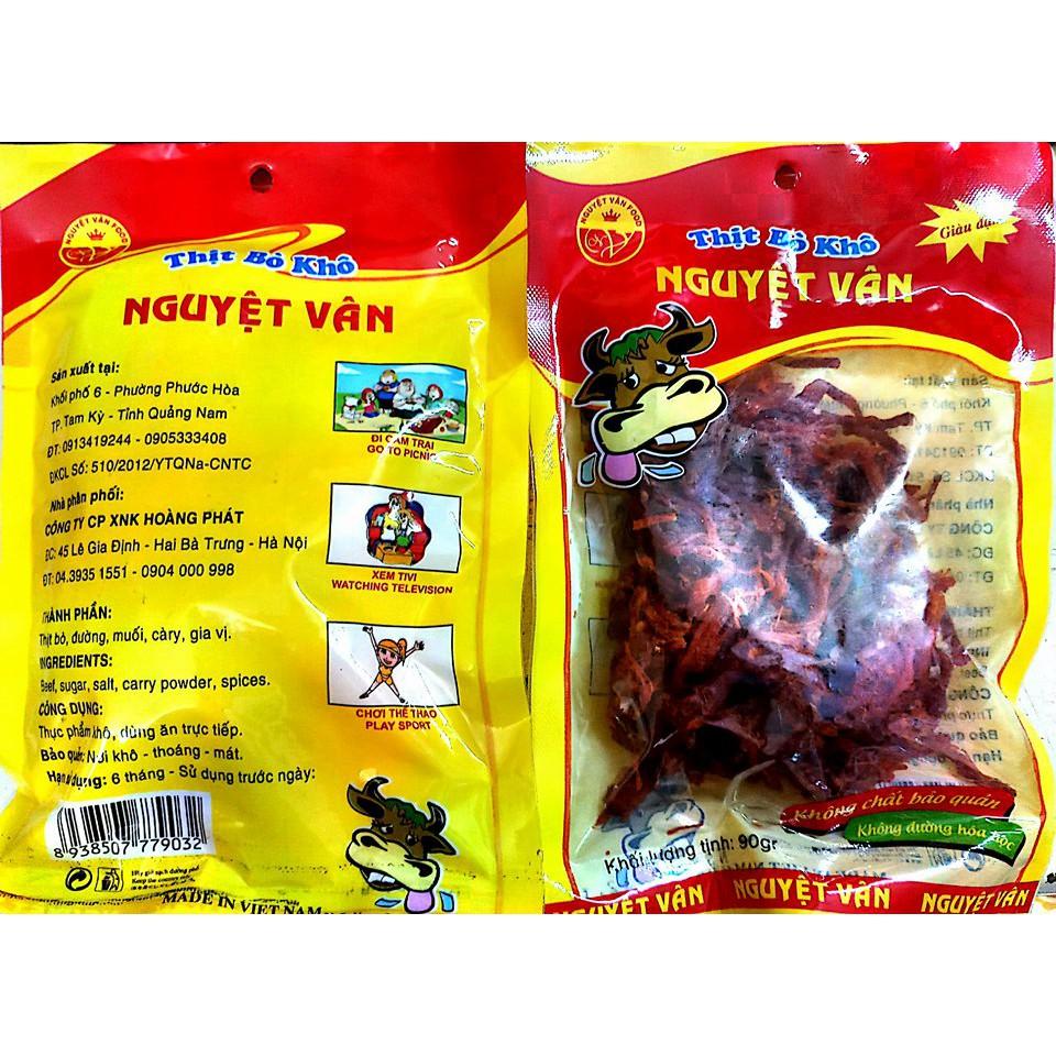 Thịt bò khô Nguyệt Vân 90gr - 2427920 , 785510731 , 322_785510731 , 28000 , Thit-bo-kho-Nguyet-Van-90gr-322_785510731 , shopee.vn , Thịt bò khô Nguyệt Vân 90gr