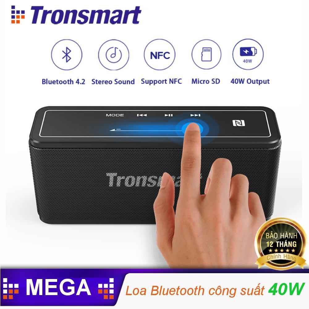 ✪ CHÍNH HÃNG ✪ Loa Bluetooth TRONSMART Element Mega công suất 40W, Pin 15h  - BẢO HÀNH 12 THÁNG