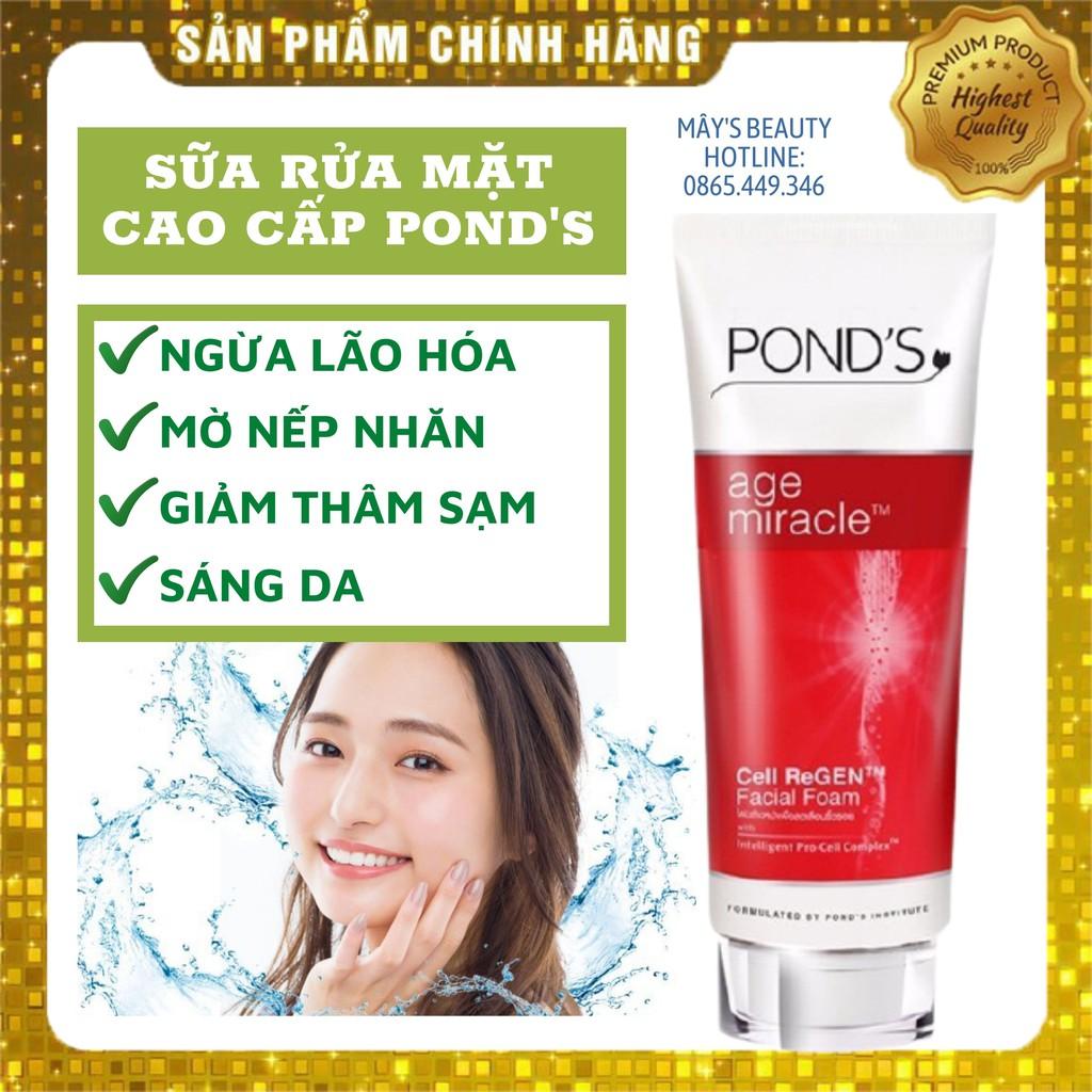 Sữa Rửa Mặt Ponds Ngừa Lão Hoá Age Miracle Thái Lan 100ml