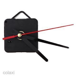 [COLAXI] Premium Quartz Wall Clock Movement Mechanism Motor Long Hands For 12hr Dials