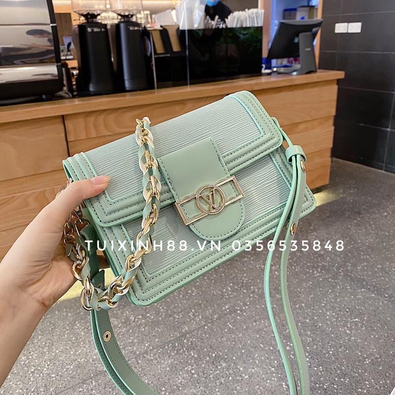 Túi xách nữ Dauphin da sần đẹp thời trang phong cách Hàn quốc