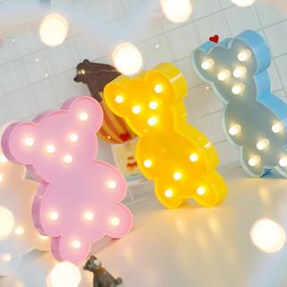 Đèn Led Để Bàn Trang Trí Hình Gấu Đáng Yêu