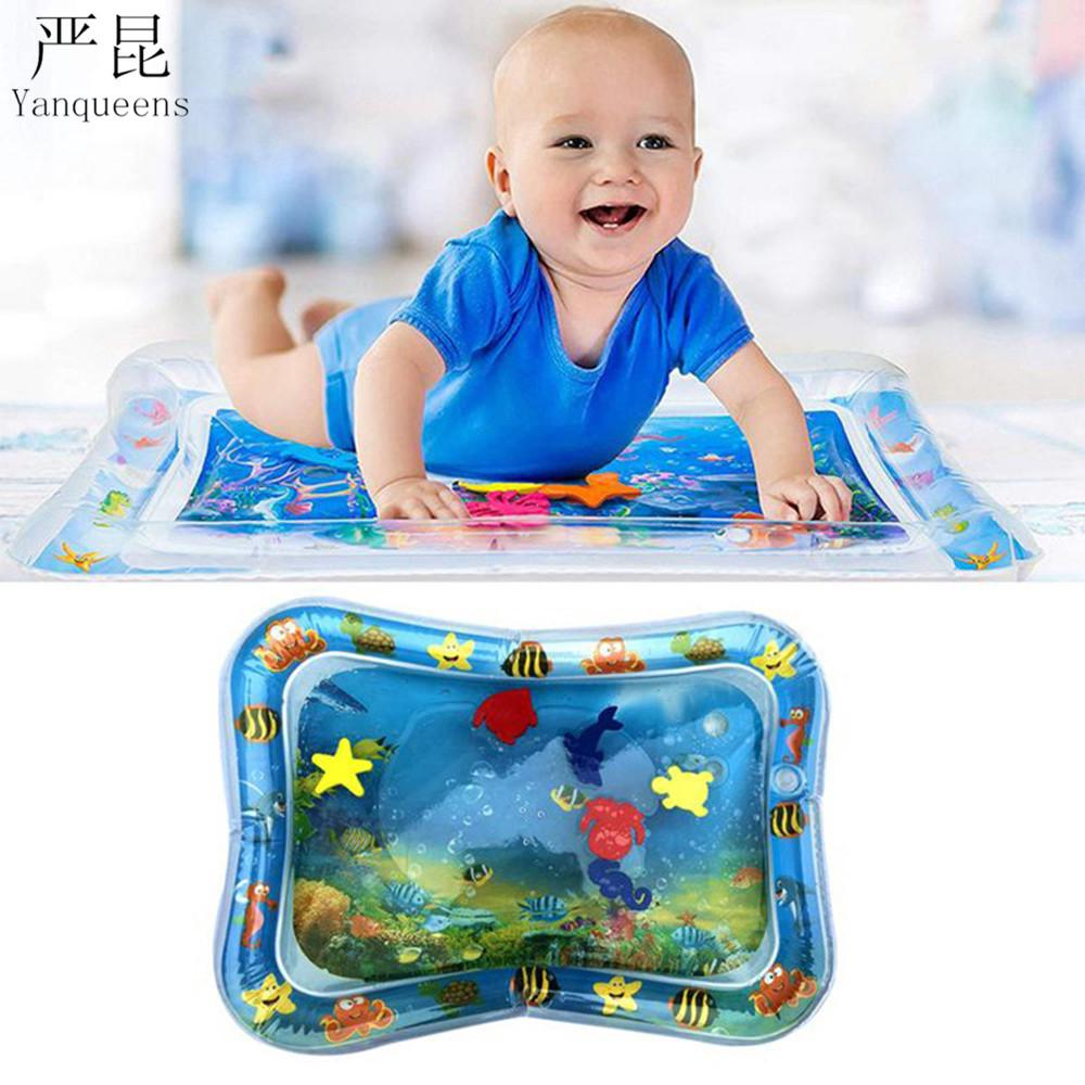 Baby Water Pad Toy MINI Water Bed Cool Down Heatstroke Prevention Puzzle Toy