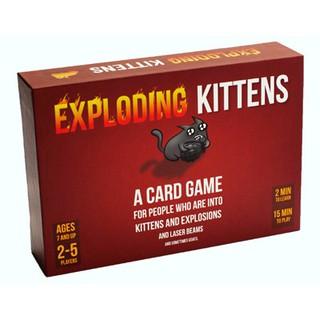 Trò chơi mèo nổ – Exploding Kittens